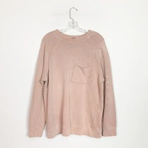 Urban Outfitters | exposed seam pullover sweater